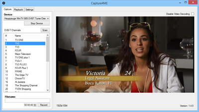 DVB, ATSC, QAM channel selection